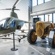 Hélicoptère Citroën - Visite du Conservatoire
