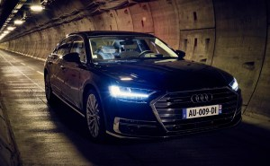 Audi A8 - Tunnel sous la manche - 11
