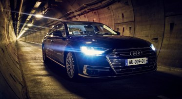 Audi A8 - Tunnel sous la manche - 14