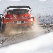 Citroën Racing - Rallye de Monte Carlo 2018 - Photos