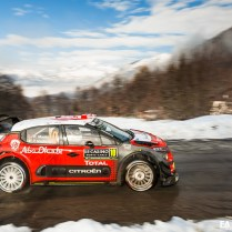 Citroen Racing - Rallye de Monte Carlo 2018 - Photos