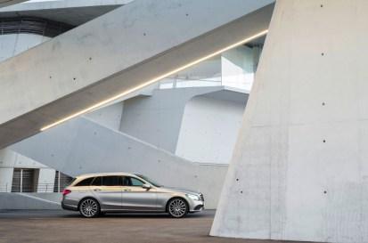 Weltpremiere der neuen C-Klasse Limousine und des T-Modells