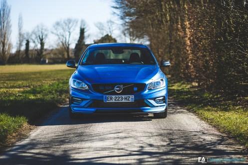 Photos Essai Volvo S60 (Polestar 2018)