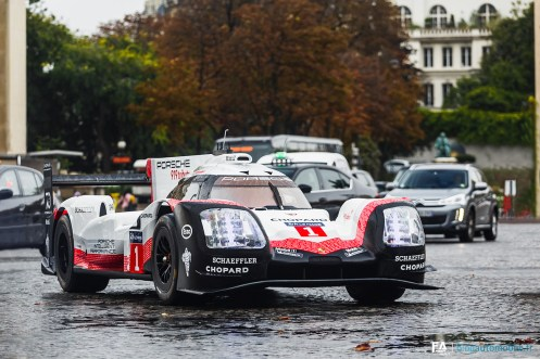 Porsche 919 Tribute Tour Paris