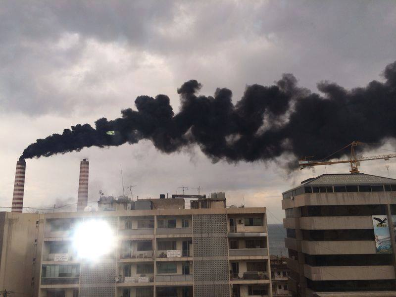 Image result for air pollution lebanon zouk