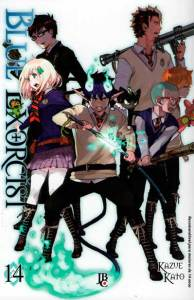 blue exorcist 14