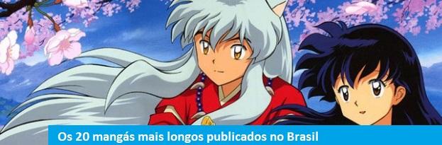 Os 20 mangás mais longos publicados no Brasil