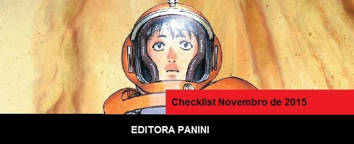 Checklist Novembro de 2015 – Editora Panini