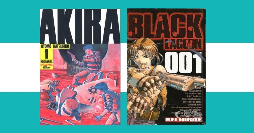NI 128. Atraso de Akira na França e data para retorno de Black Lagoon no Japão