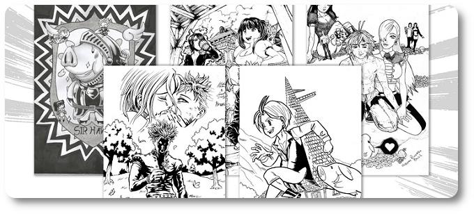 """""""The Seven Deadly Sins"""": JBC começa a receber fanarts para o concurso mundial de desenhos"""