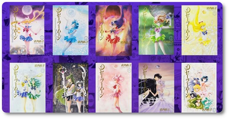 Novo título pela JBC: Sailor Moon Eternal Edition