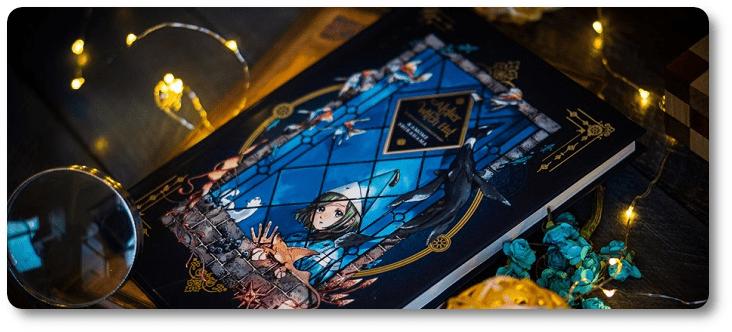 "NI 403. Os belíssimos produtos de ""Atelier of Witch Hat"" no exterior"