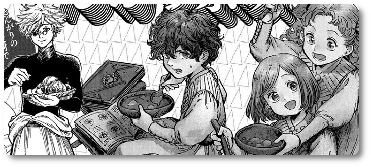 """NI 406. Mangá """"Atelier of Witch Hat"""" ganha spin-off de culinária no Japão"""