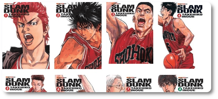 "NI 405. Novo artbook de ""Slam Dunk"" no Japão"
