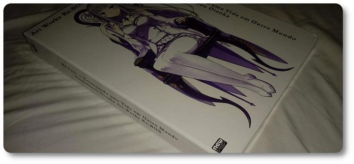 "Analisando o artbook de ""Re:Zero"" (Re:Zero Art Works Re:BOX)"