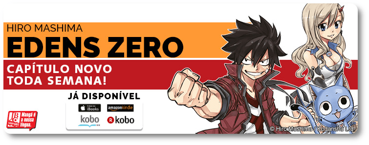 "EBOOKS: ""Edens Zero 079"" já está disponível"