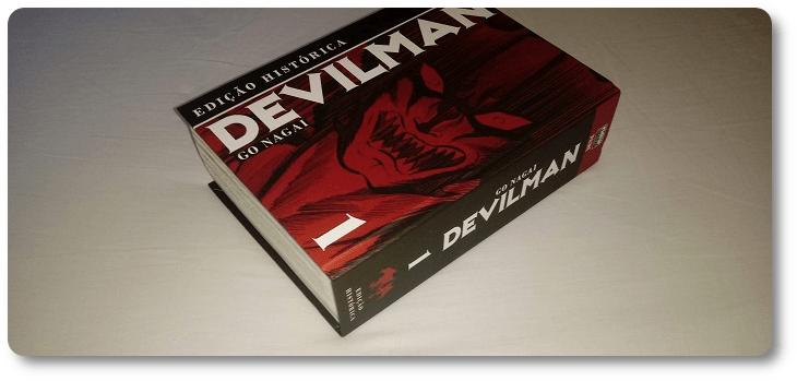 Resenha: Devilman – Edição Histórica (volume 1)
