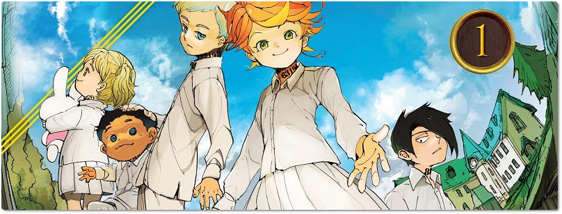 "Panini reimprime os volumes iniciais de ""The Promised Neverland"" e ""Bungo Stray Dogs"""