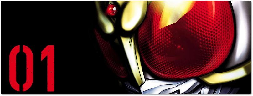 """JBC divulga mais um detalhe de """"Kamen Rider Kuuga"""""""