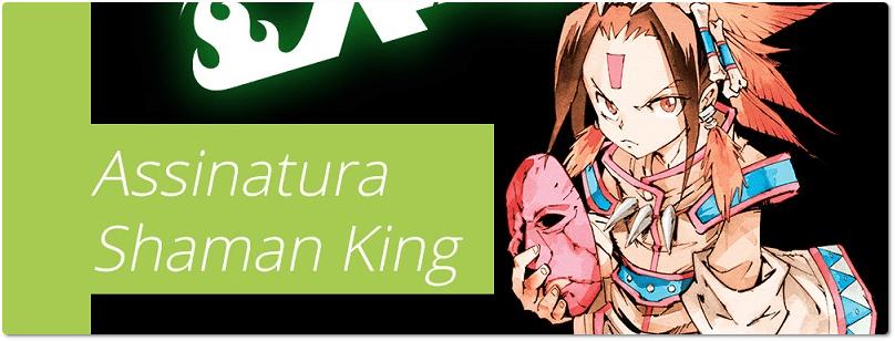 """""""Shaman King"""": veja os detalhes da assinatura da obra"""
