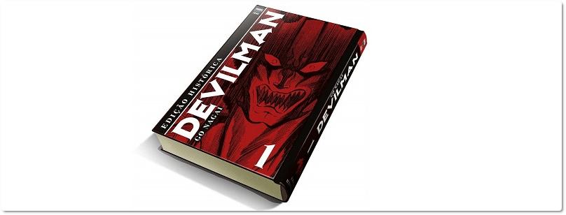"""Devilman"": reimpressão já em pré-venda"