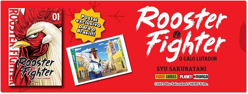 """Edição brasileira de """"Rooster Fighter"""" terá postal exclusivo"""