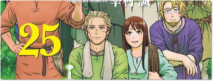 """Vinland Saga"": Panini divulga data de lançamento do volume 25"