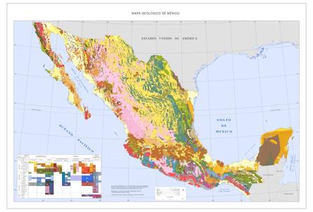 Carta Geologica de México