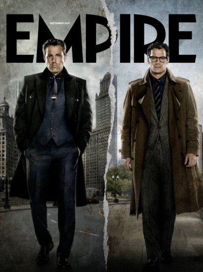 Bruce Wayne e Clark Kent na Empire