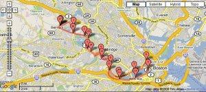 17 Mile Run along The Charles