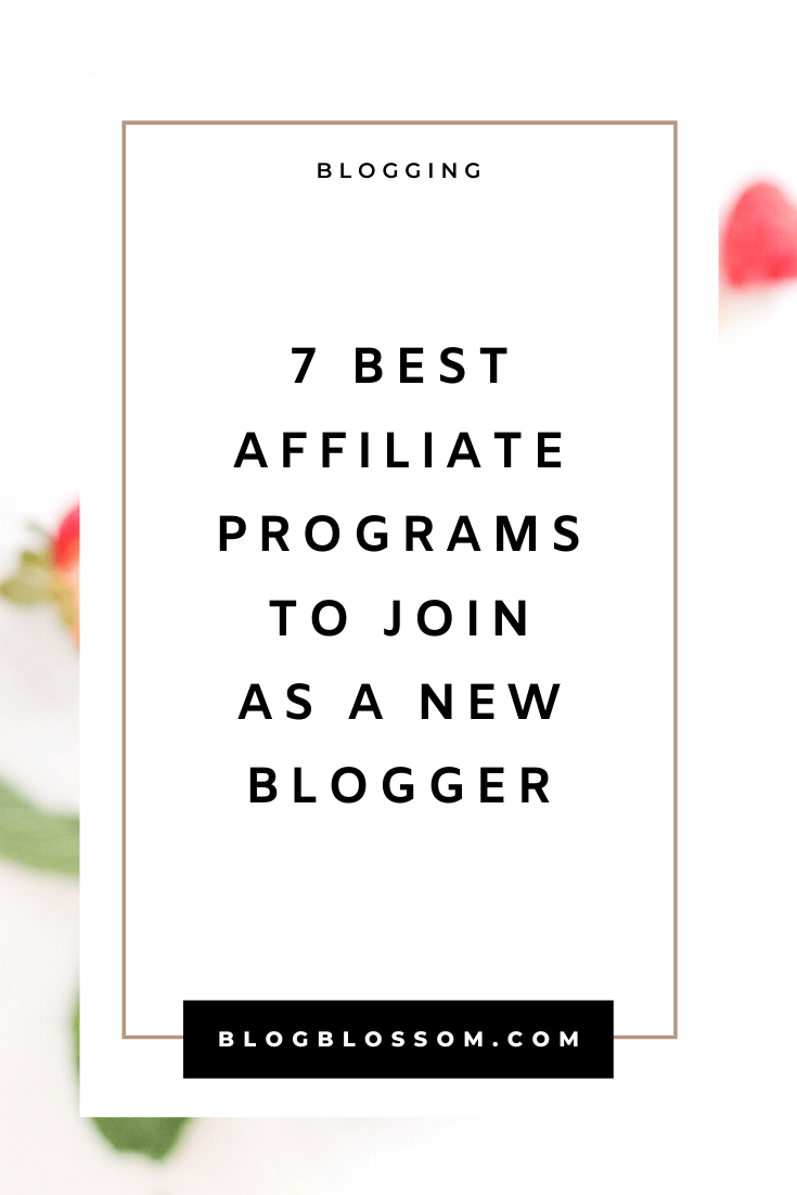 Looking to start a profitable blog and earn passive income on auto pilot? Here is a list of great affiliate programs for new bloggers in any niche to join and make money in your sleep, even if you're a beginner! | affiliate marketing | affiliate networks | affiliate products | passive income streams | entrepreneur | solopreneur | make money online | digital nomad #bloggingtips #startablog #blogging #makemoneyonline #sidehustle #passiveincome #affiliatemarketing