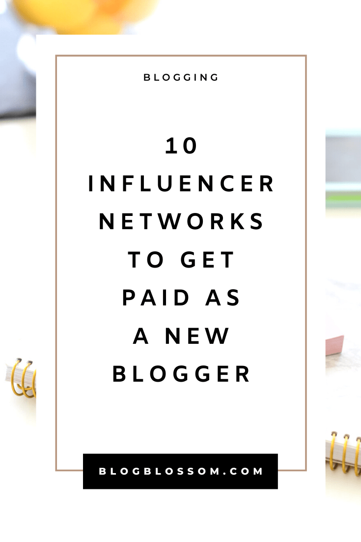 Looking to start a profitable blog and earn money from sponsored posts? Brands will pay big bucks to influencers and microinfluencers to promote their products and services. Here is a list of great influencer networks to join and make money even if you're a new blogger. | sponsored posts | social shares | entrepreneur | solopreneur | make money online | digital nomad | start a blog #bloggingtips #startablog #blogging #makemoneyonline #sidehustle #influencer #influencermarketing