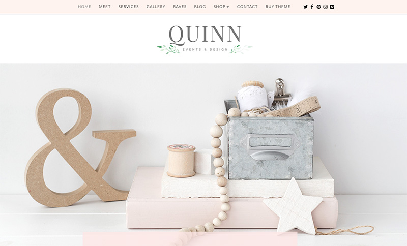 quinn wordpress theme