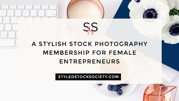 Styled Stock SocietyFeminine Stock Photo Subscription