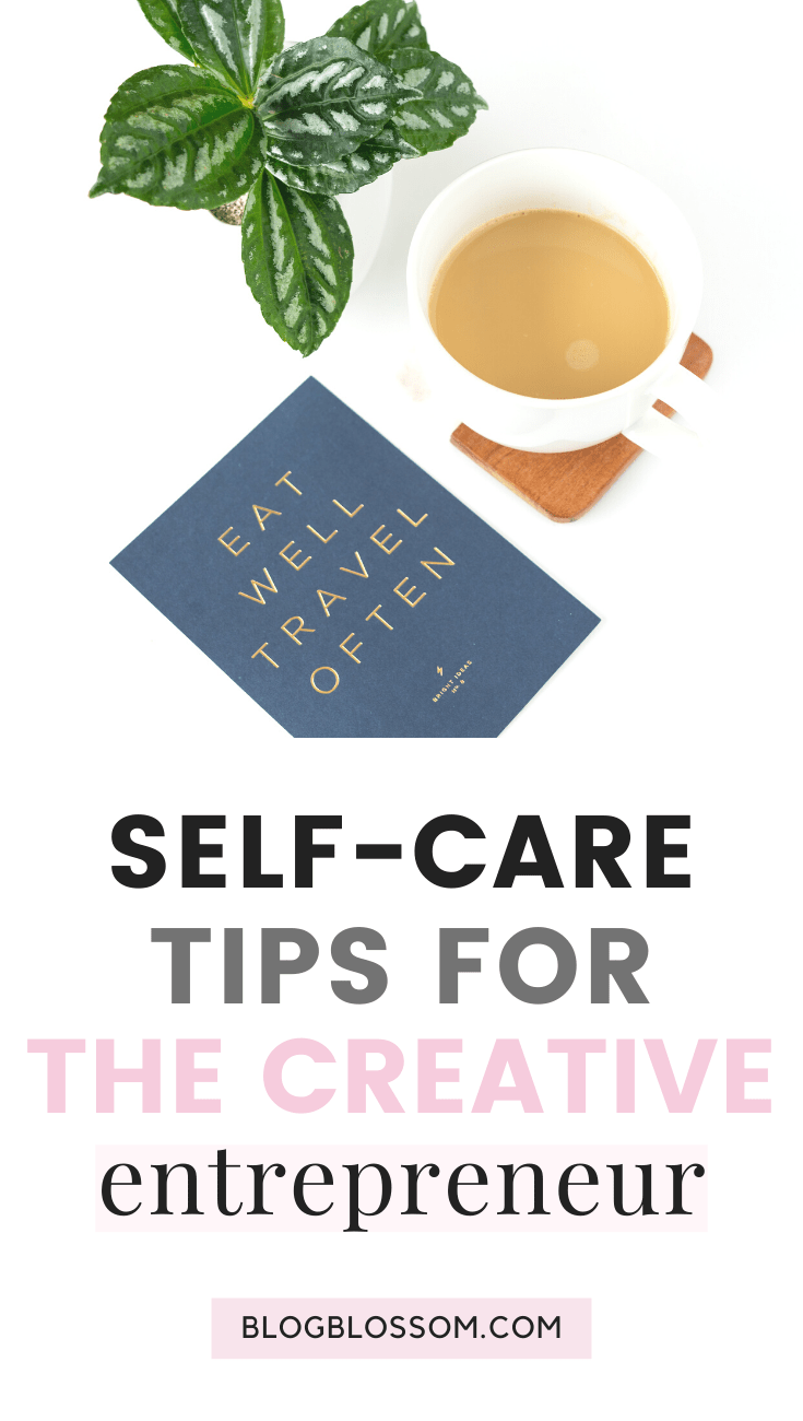 Whether you're an entrepreneur, blogger, or a freelancer, working long hours can be very hard on your mental, physical, & emotional health if you neglect to prioritize self-care. Here are 8 self-care tips for entrepreneurs & bloggers that are perfect if you're constantly at work and want to avoid burnout. | girl boss | work from home | mental health | healthy habits | wellness tips | how to practice self-care | personal development | productivity | growth | positive mindset | self-care habits