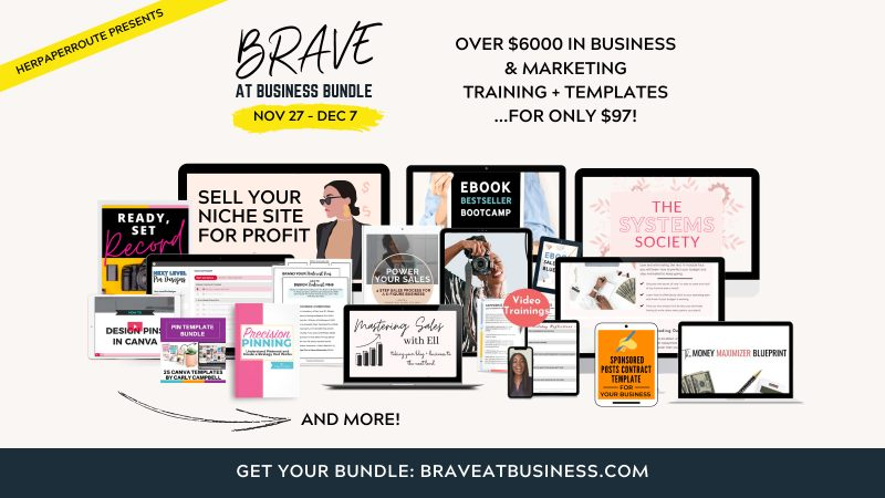 brave at business 2020 bundle mockup