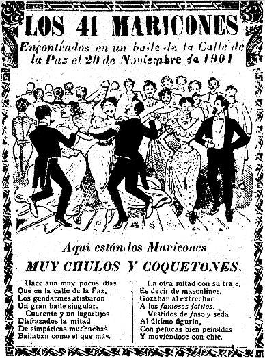 José Guadalupe Posadas Baile de los 41