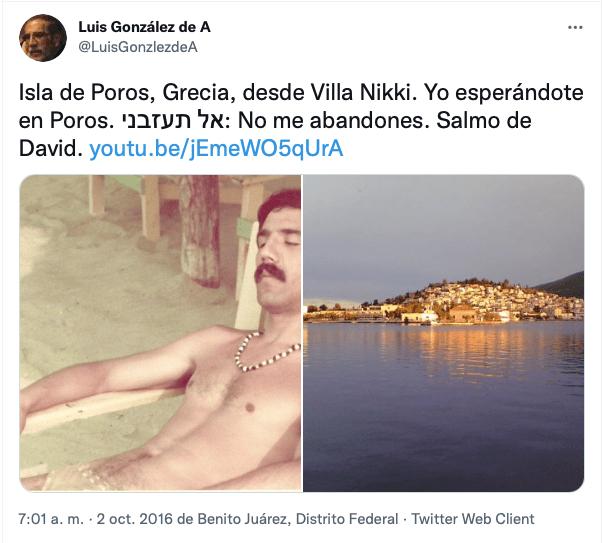 El Salmo de Luis González de Alba