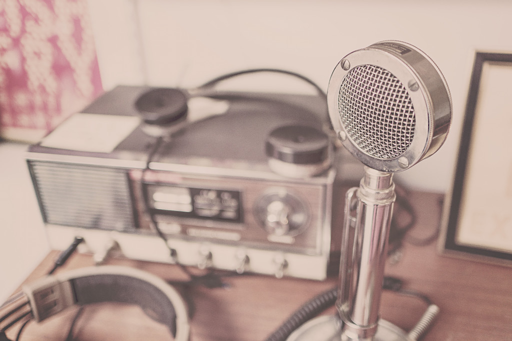 Microphone Radio Blog Bohème