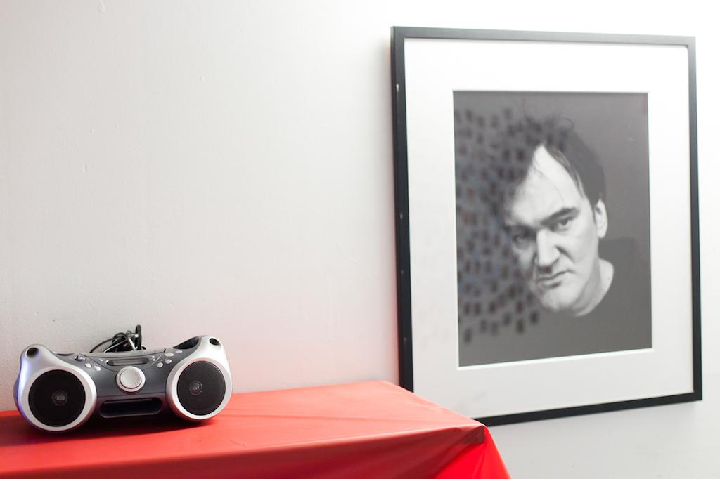 Auch Tarantino war da © Andrea Vollmer & Michael Kuchinke-Hofer
