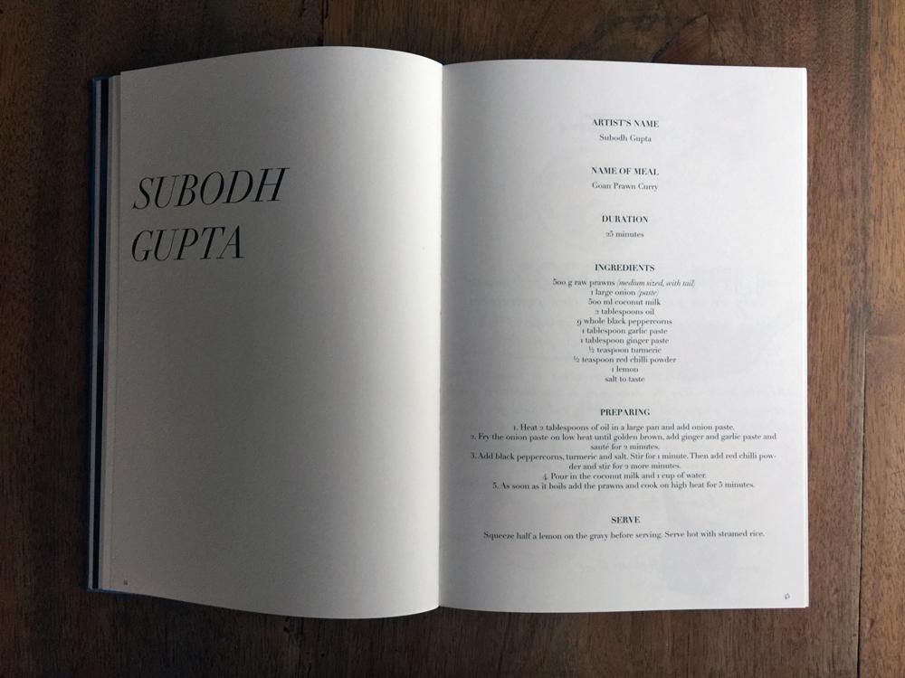 Artists Recipes