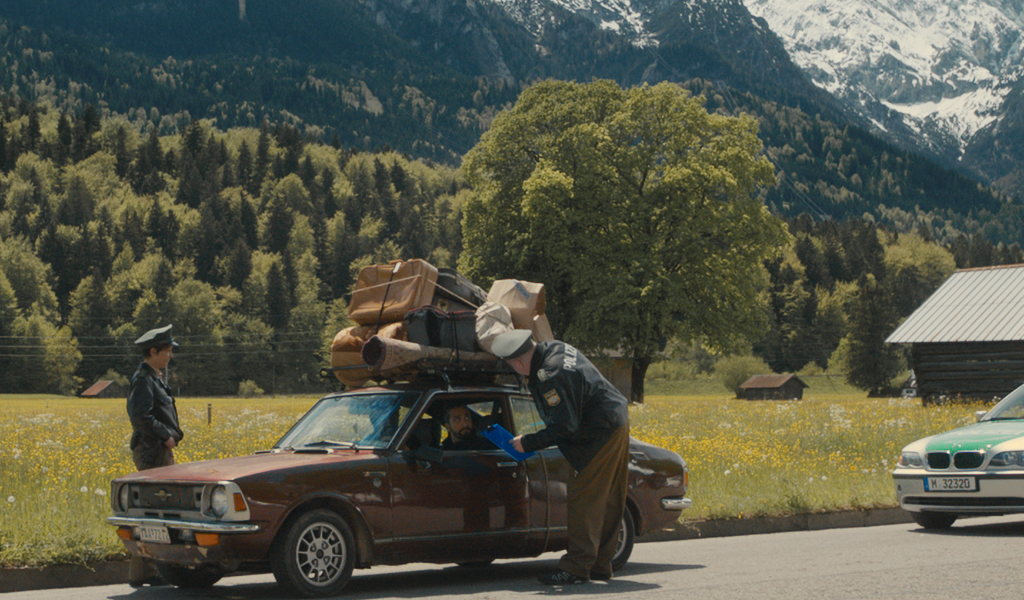 """Willkommen in Bayern (Filmszene aus """"Brot & Oliven"""")"""