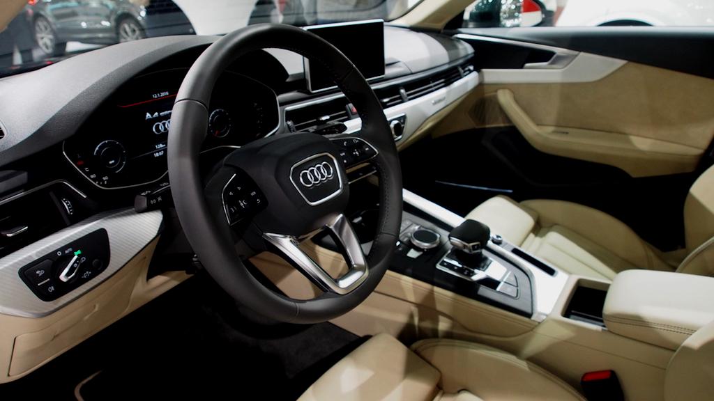 Audi Cockpit - Vienna Autoshow 2016 ©Michael André Ankermüller