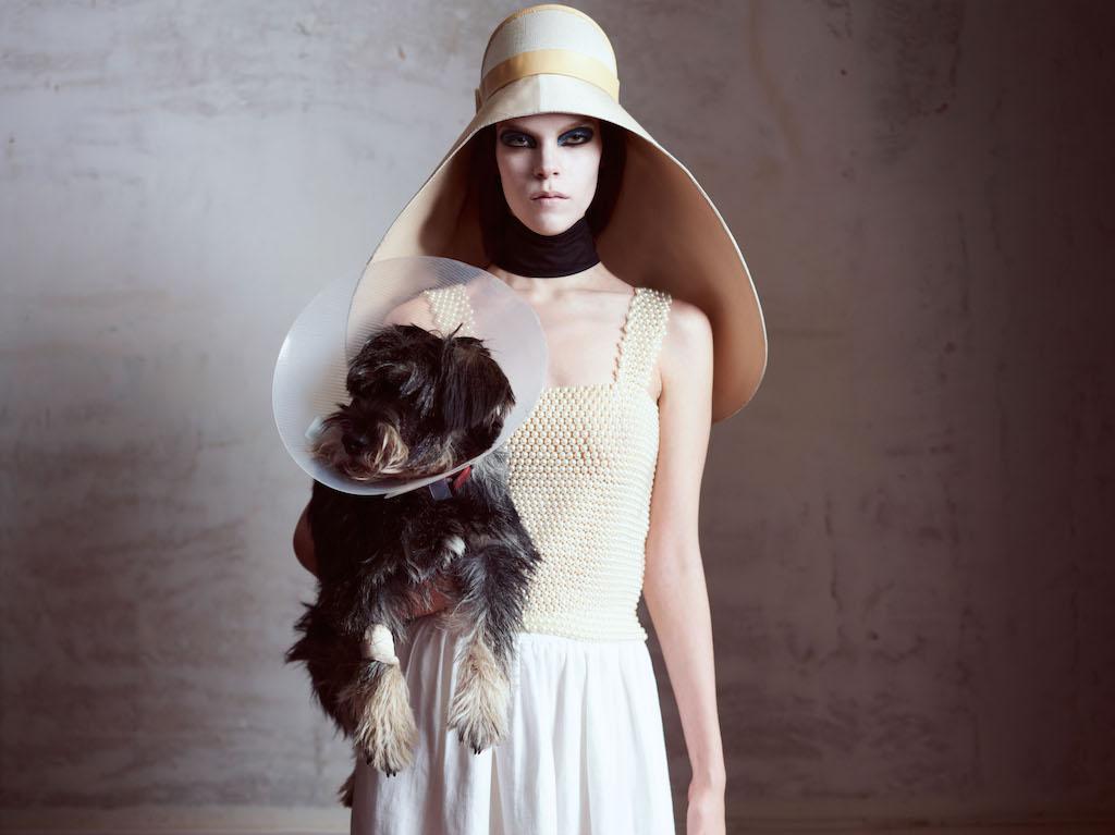 Meghan Collison / Double Magazine / 2012 © Horst Diekgerdes