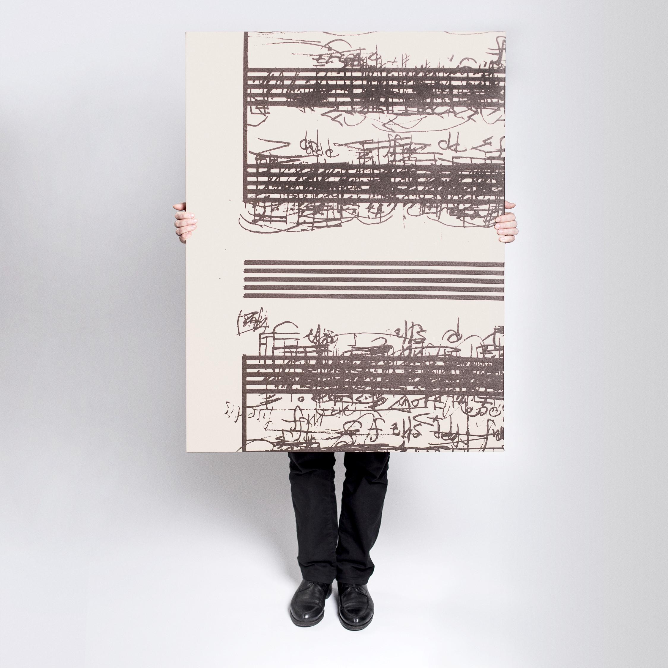 Hinter den Phonographien steckt der Künstler Peter Androsch © schwarz