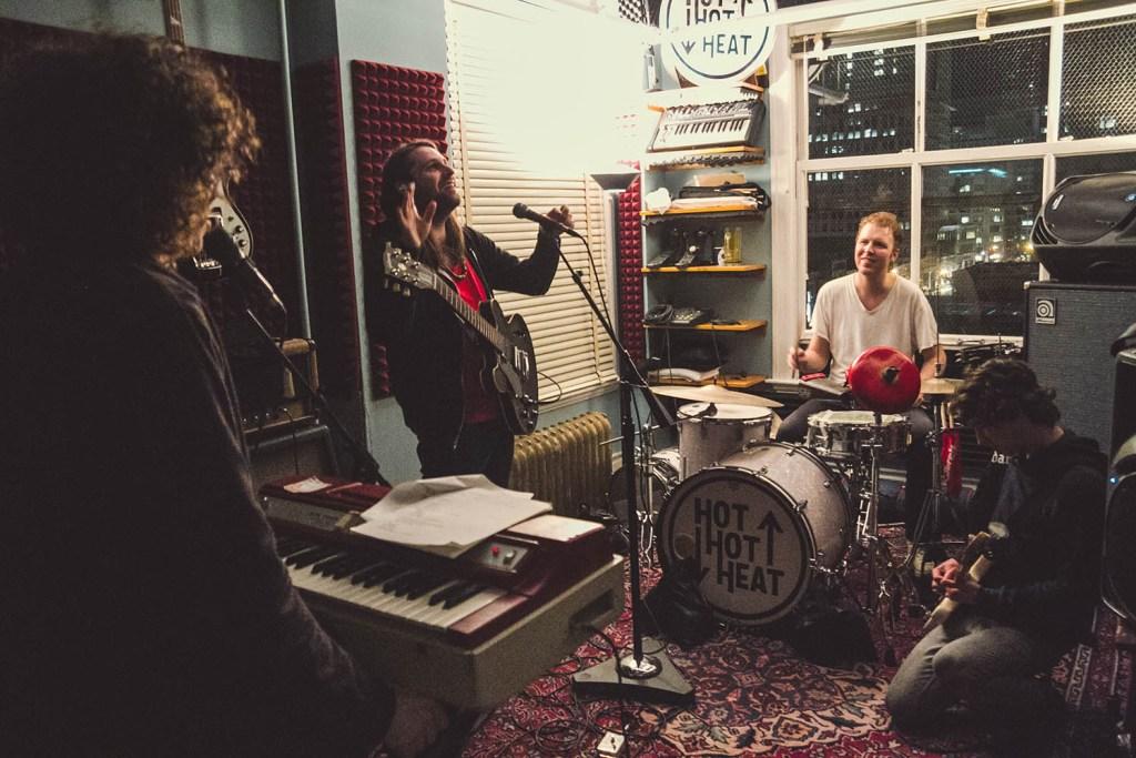 Im Studio (Photo: Joshua Peter Grafstein)