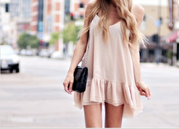 u4a6n8-l-610x610-dress-pink+dress-cute+dress-ruffles-nude-white+flowy+dress-summer+dress-peplum+dress-shoes-short+dress-beige+dress-skirt-blouse-cream+dress-dropwaist+dress-nude+dre