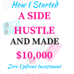 How I Started A Side Hustle On FIVERR And Made $10,000
