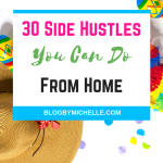 30 Side Hustles You Can Do From Home