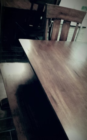 My table.